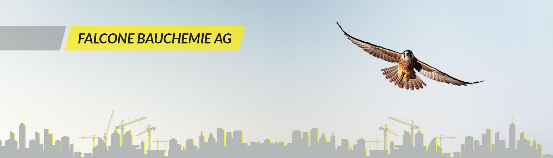 Falcone Bauchemie AG - Banner